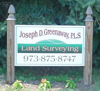 Greenaway Surveying Sign